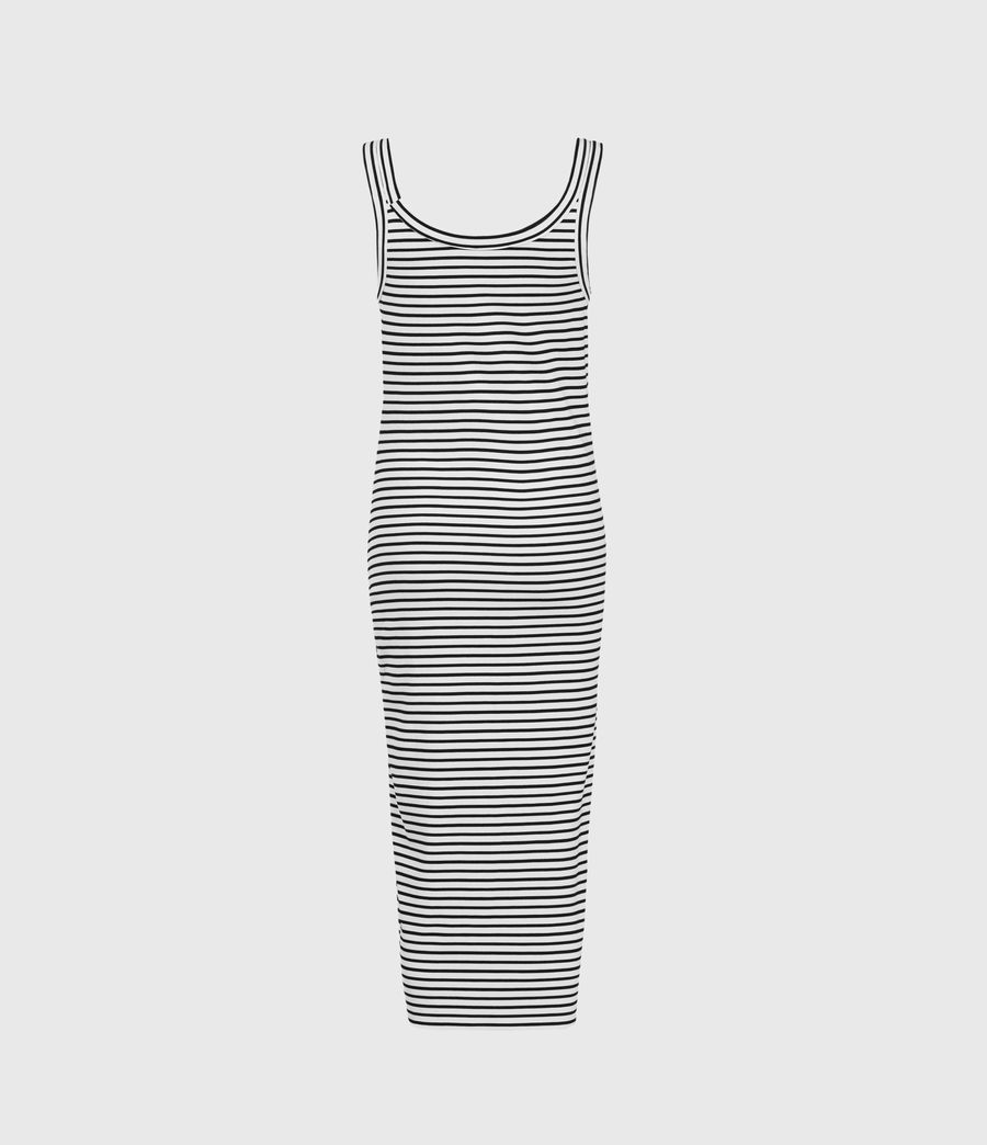 Damen Hatti Sleeveless Stripe Dres (ecru_black) - Image 2