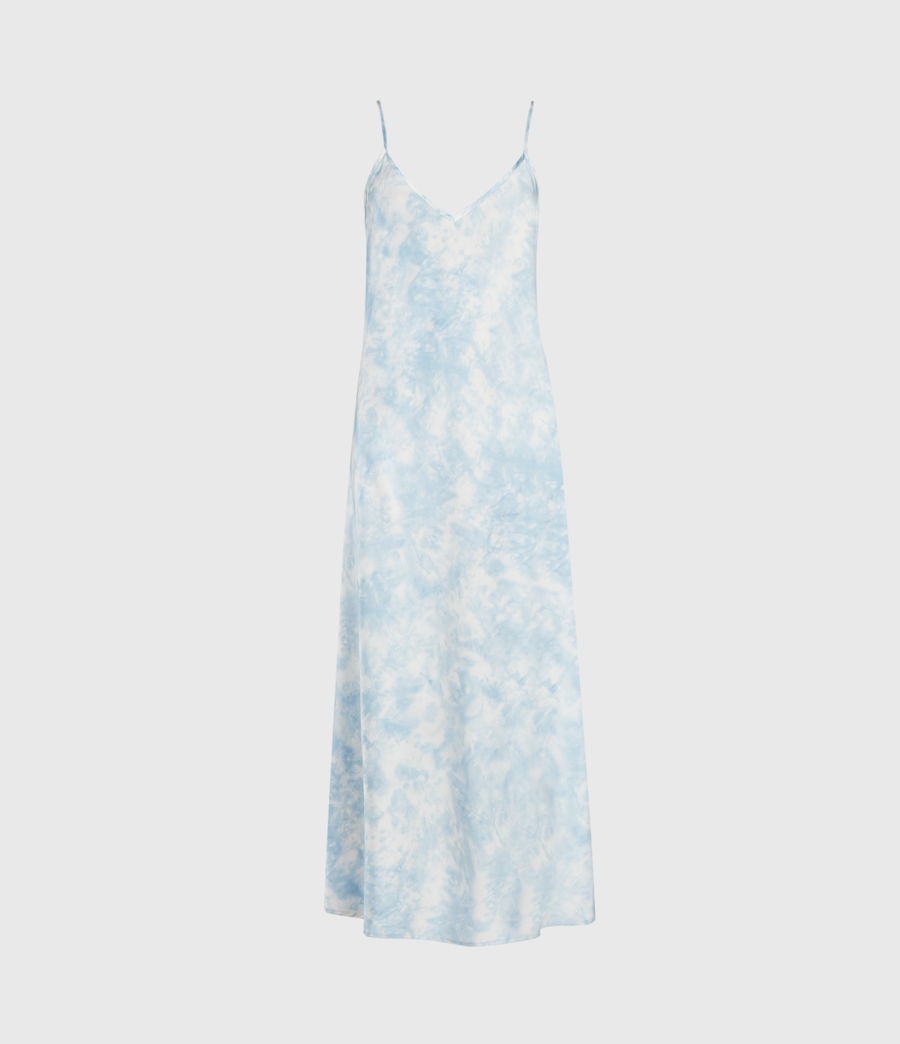 Womens Imo Tie Dye 2-In-1 Dress (chalk_blue) - Image 5