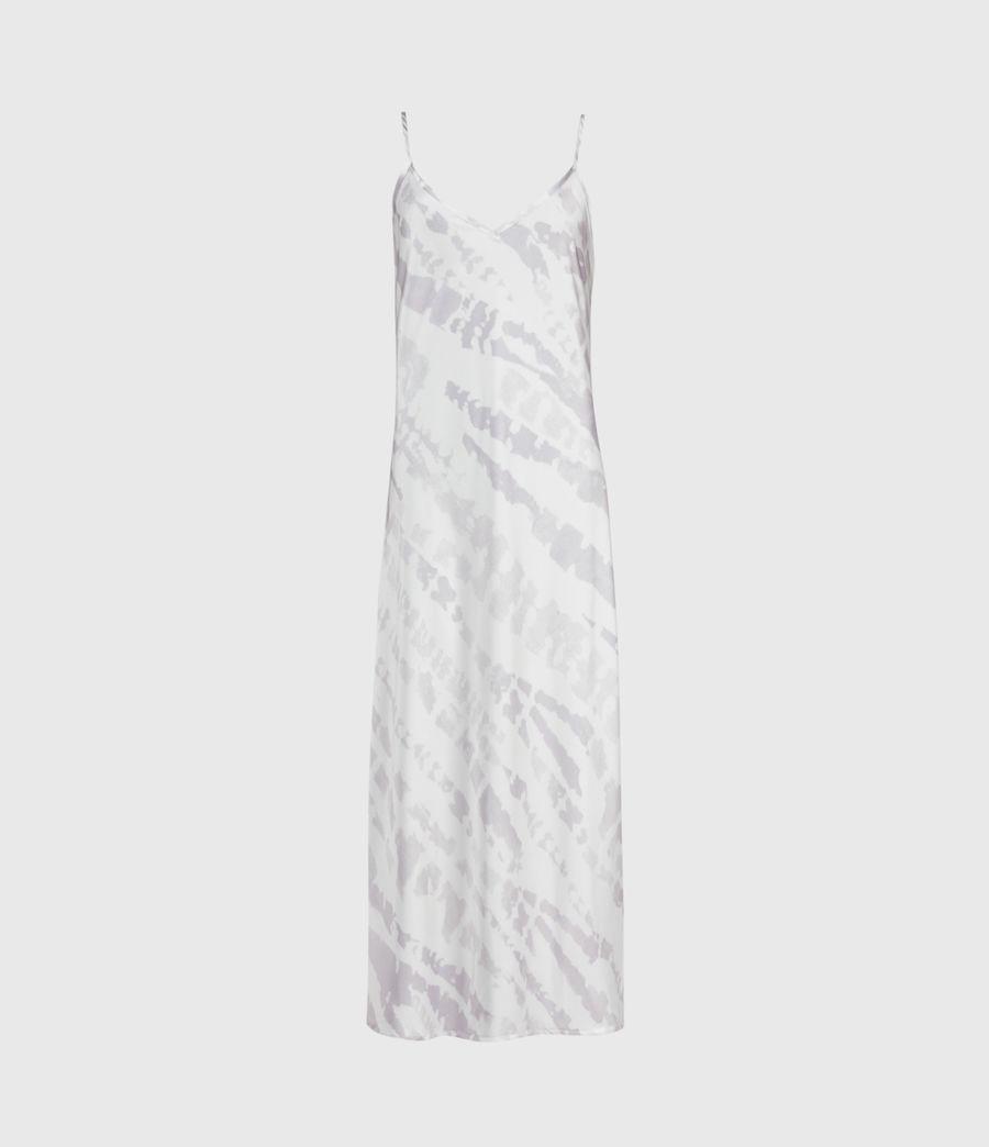 Mujer Knot Tie Dye 2-In-1 Dress (lavender) - Image 4