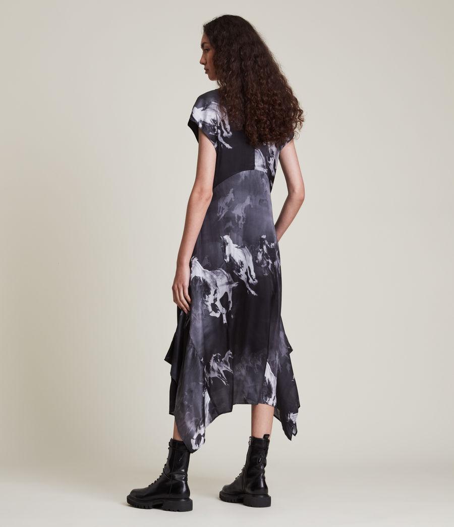 Women's Gianna Epoto Silk Blend Dress (black) - Image 4