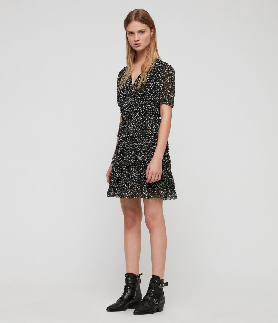 Women's Ilia Pippa Dress (black) - Image 2