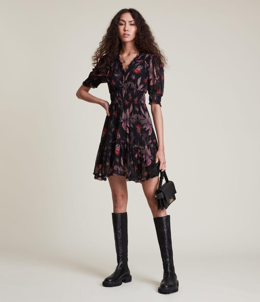Women's Via Harris Dress (black) - Image 1