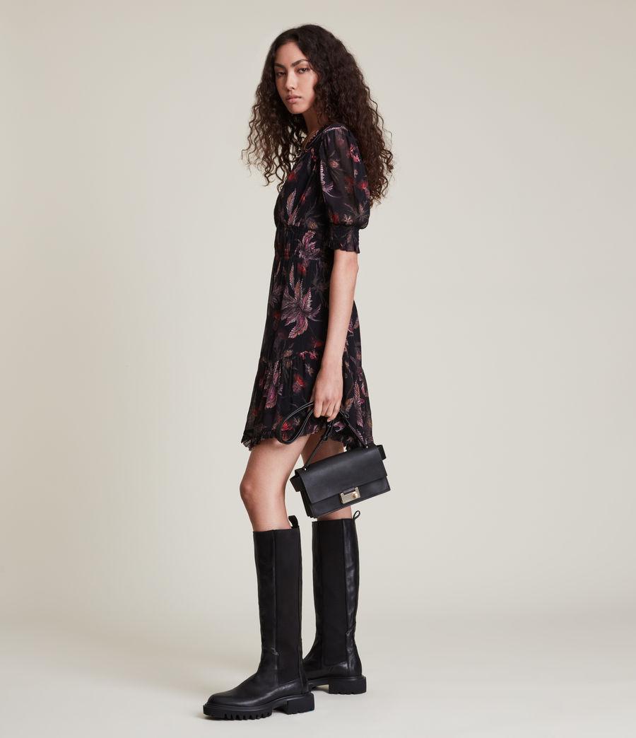 Women's Via Harris Dress (black) - Image 3