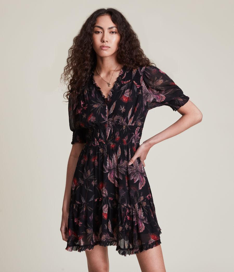 Women's Via Harris Dress (black) - Image 4