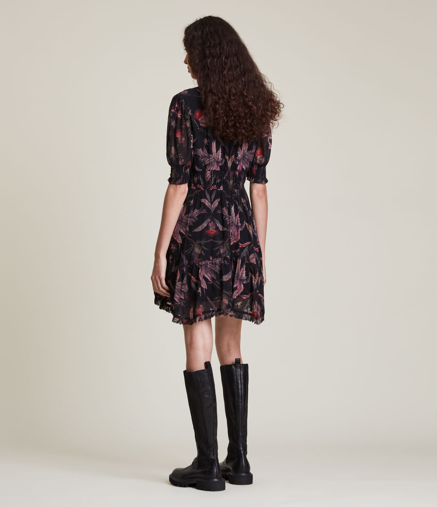 Women's Via Harris Dress (black) - Image 5