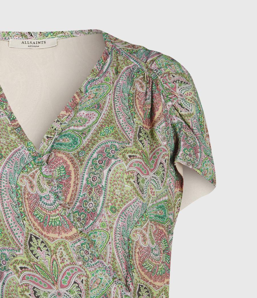 Mujer Zini Shahmina Dress (green) - Image 4
