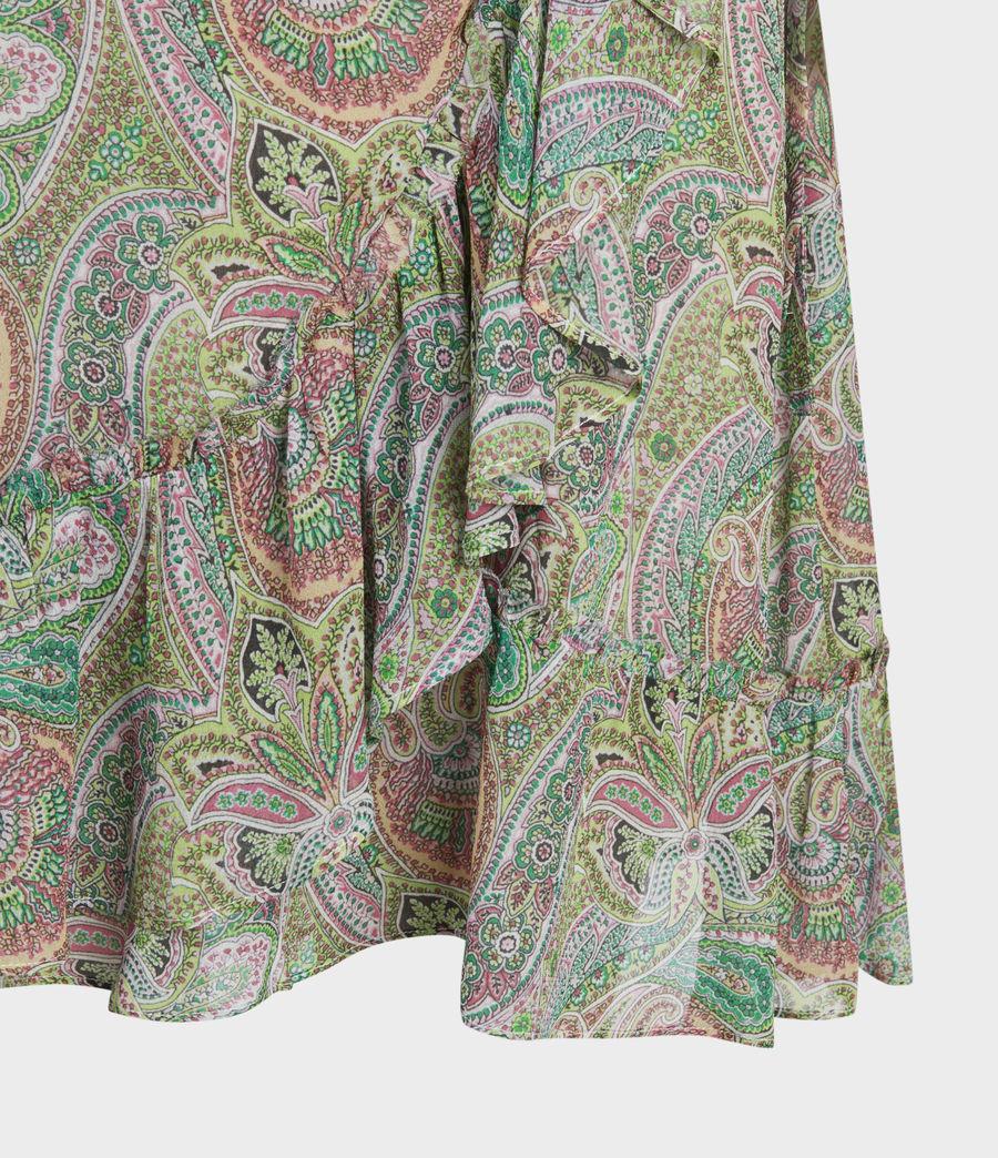 Women's Zini Shahmina Dress (green) - Image 5