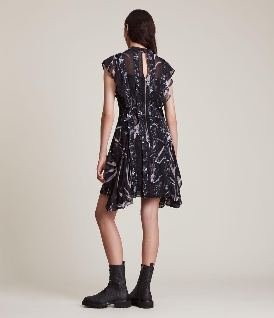 Women's Fleur Rutland Dress (black) - Image 5