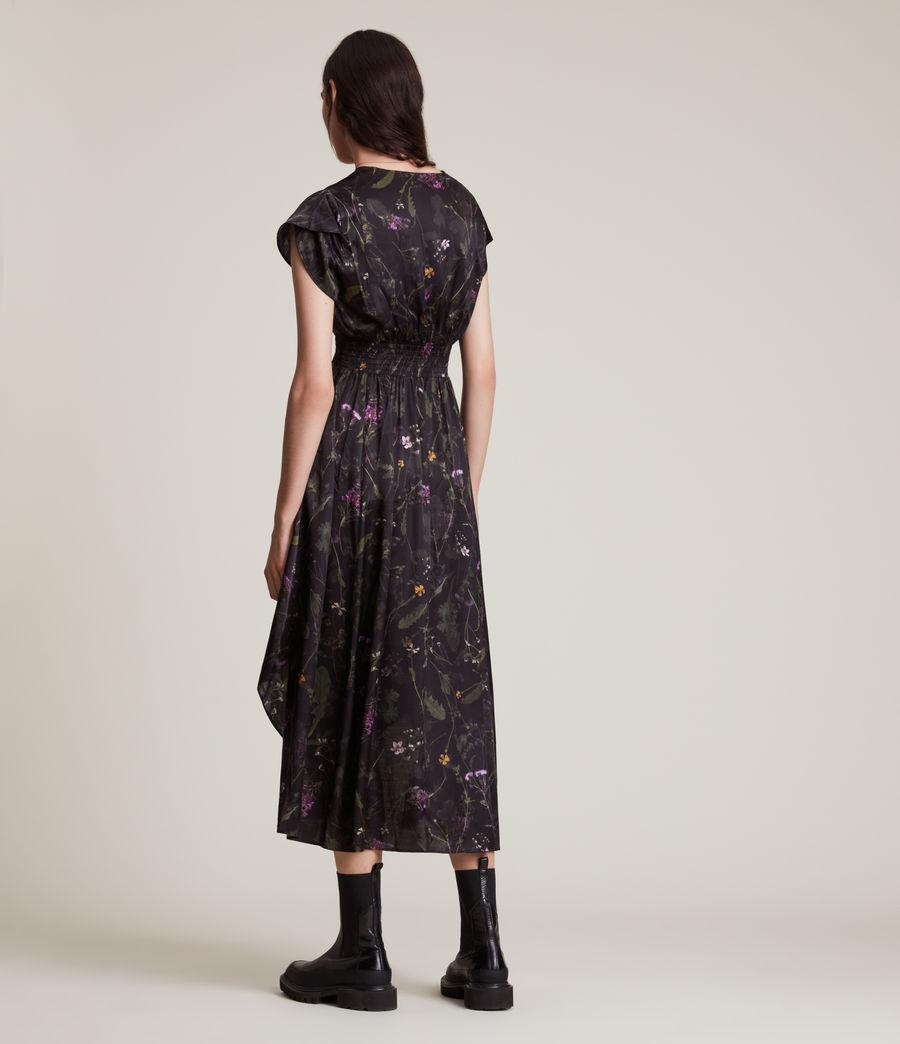 Women's Leila Heligan Silk Blend Dress (black) - Image 4