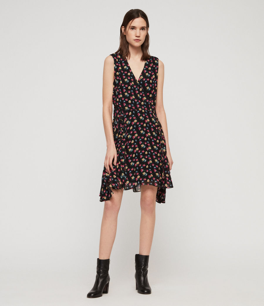 Womens Miller Kukio Dress (black) - Image 1