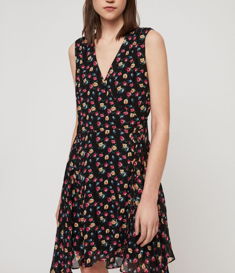Womens Miller Kukio Dress (black) - Image 3