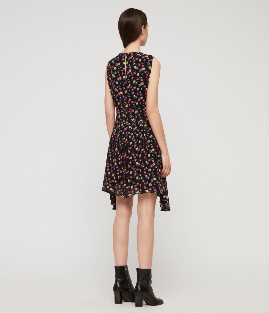 Womens Miller Kukio Dress (black) - Image 7