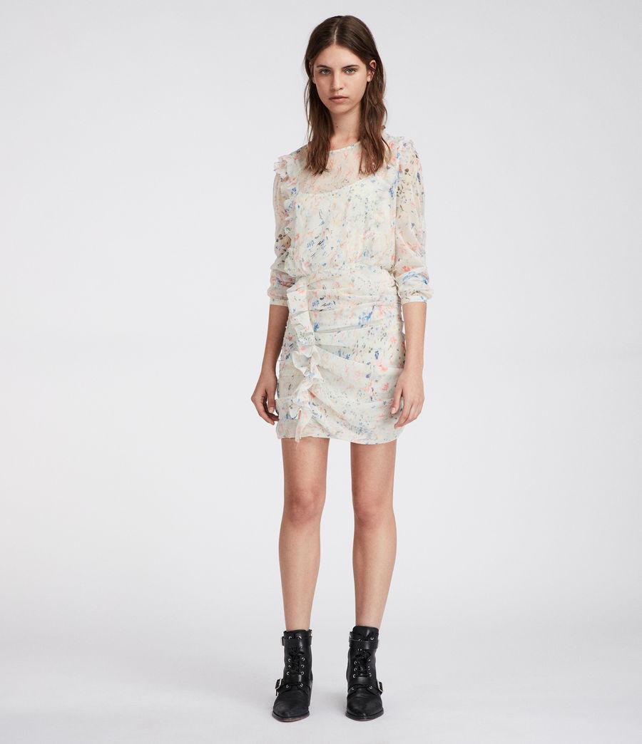 Femmes Robe Flint Juni (chalk_white) - Image 1
