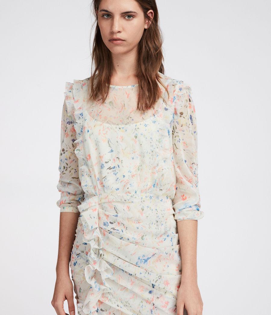 Mujer Vestido Flint Juni (chalk_white) - Image 3