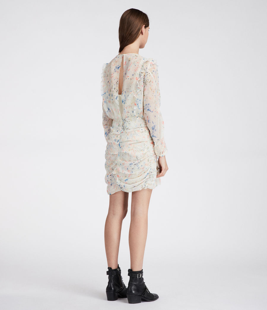 Mujer Vestido Flint Juni (chalk_white) - Image 5