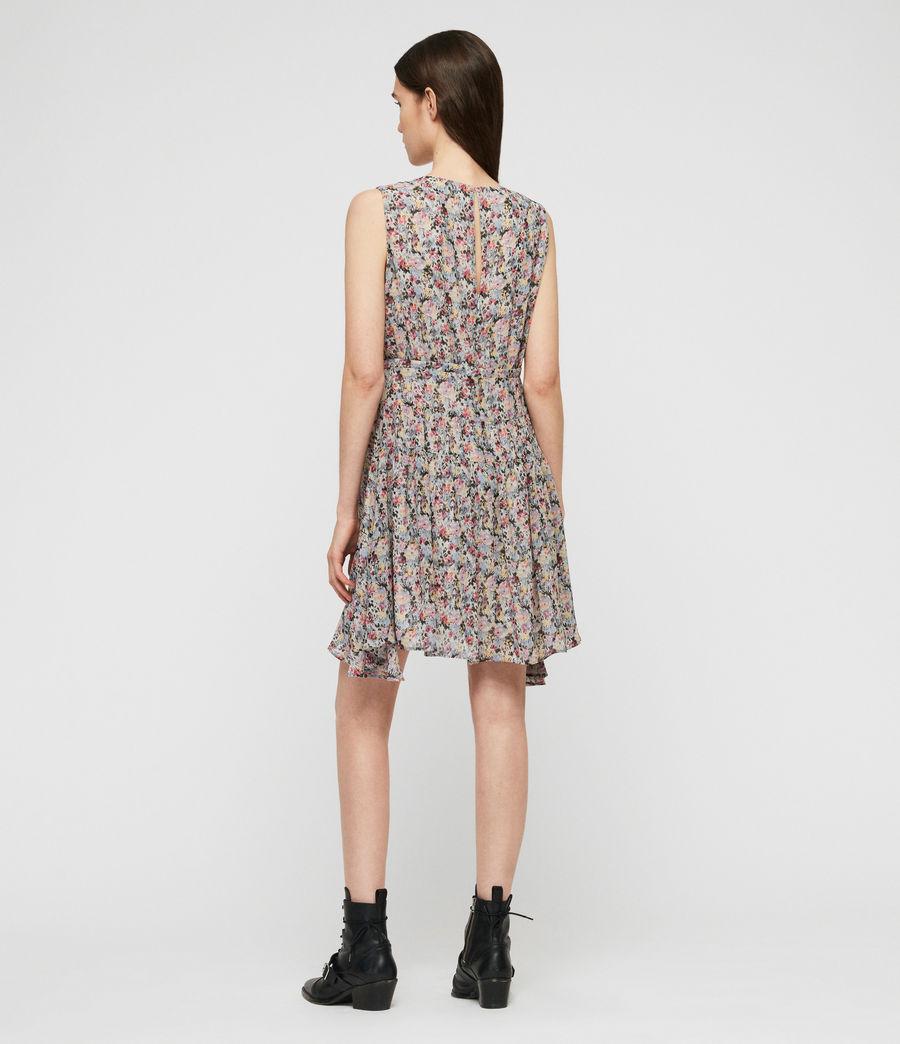 Womens Miller Sketch Dress (violet) - Image 4