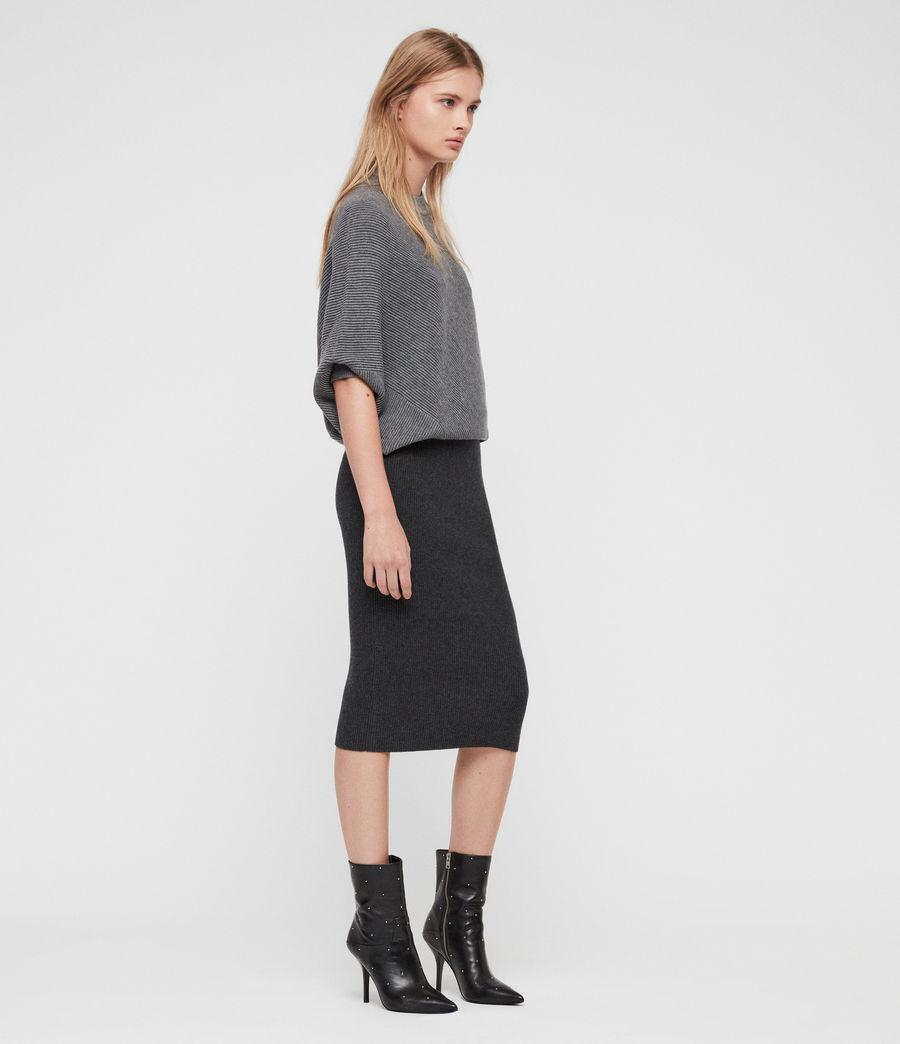 Damen Deon Mix Kleid (grey_mix) - Image 1