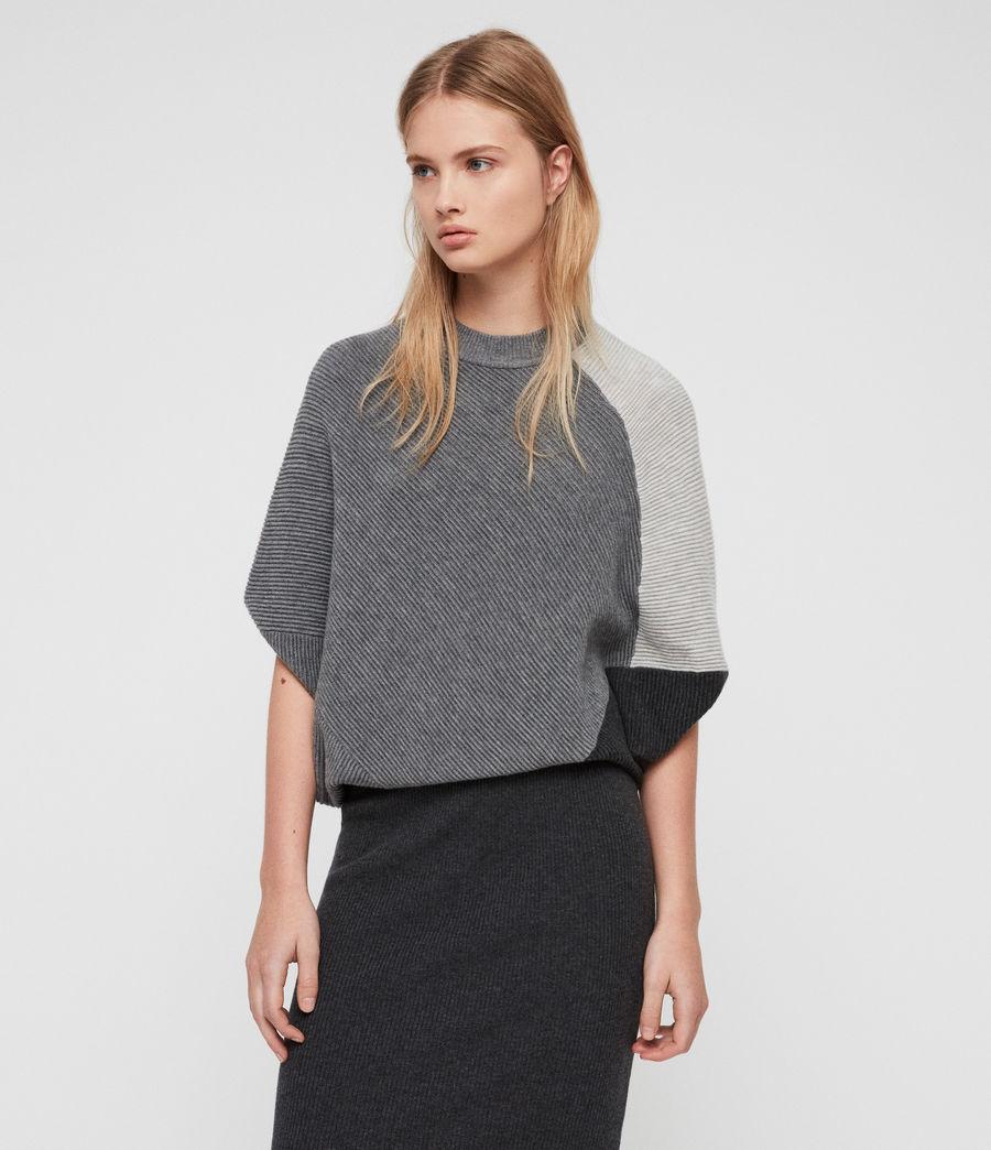 Damen Deon Mix Kleid (grey_mix) - Image 2