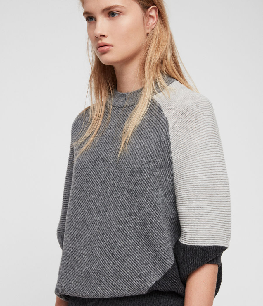Damen Deon Mix Kleid (grey_mix) - Image 3