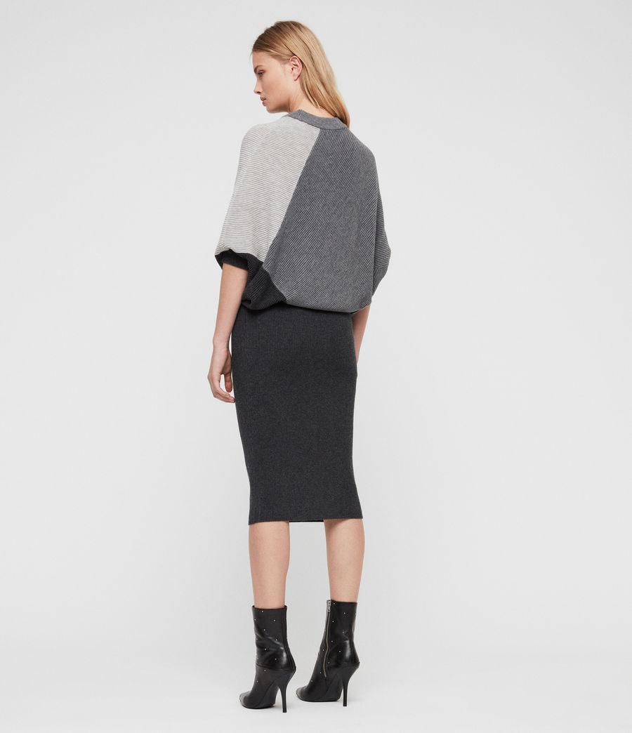 Damen Deon Mix Kleid (grey_mix) - Image 4