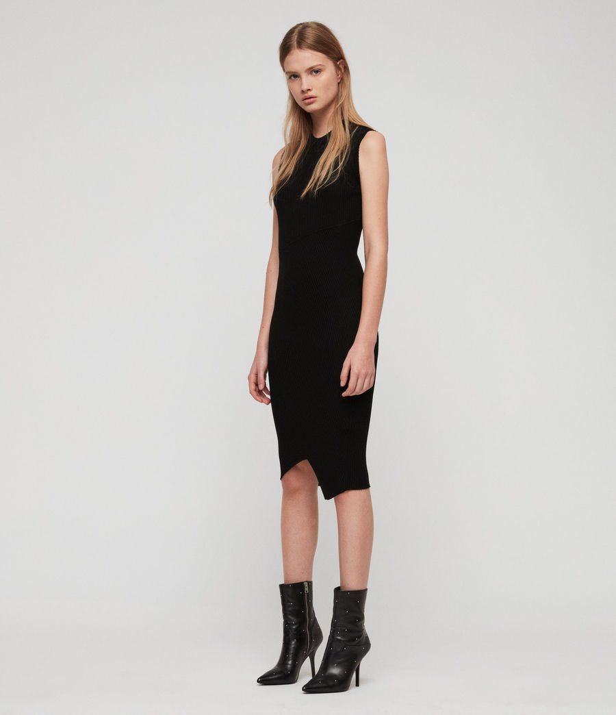 Women's Amara Dress (black) - Image 1