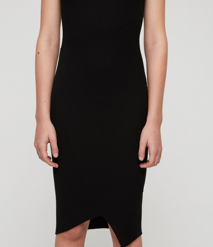 Women's Amara Dress (black) - Image 3