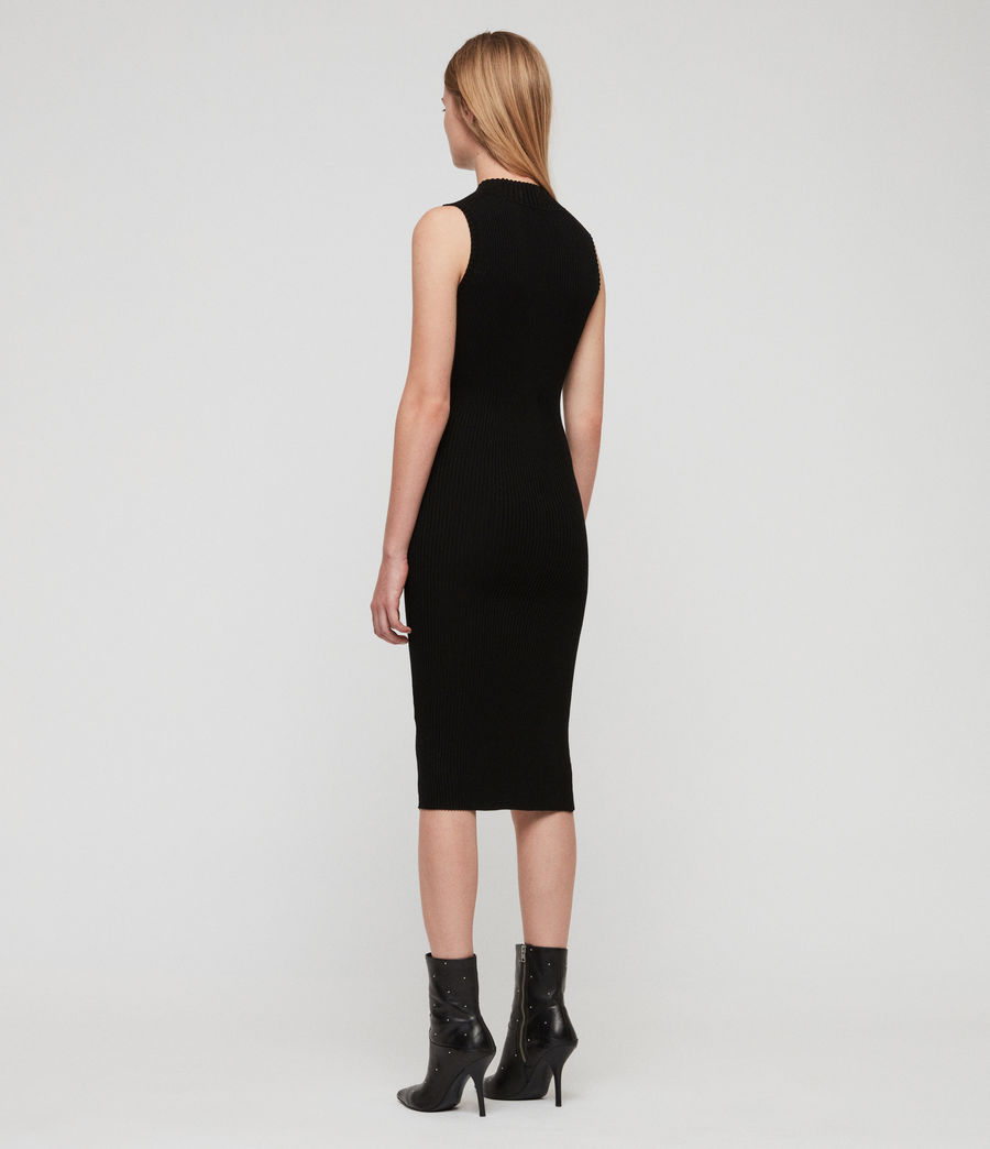 Women's Amara Dress (black) - Image 5
