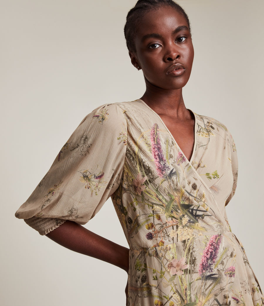 Women's Ari Caledonian Dress (khaki_green) - Image 2