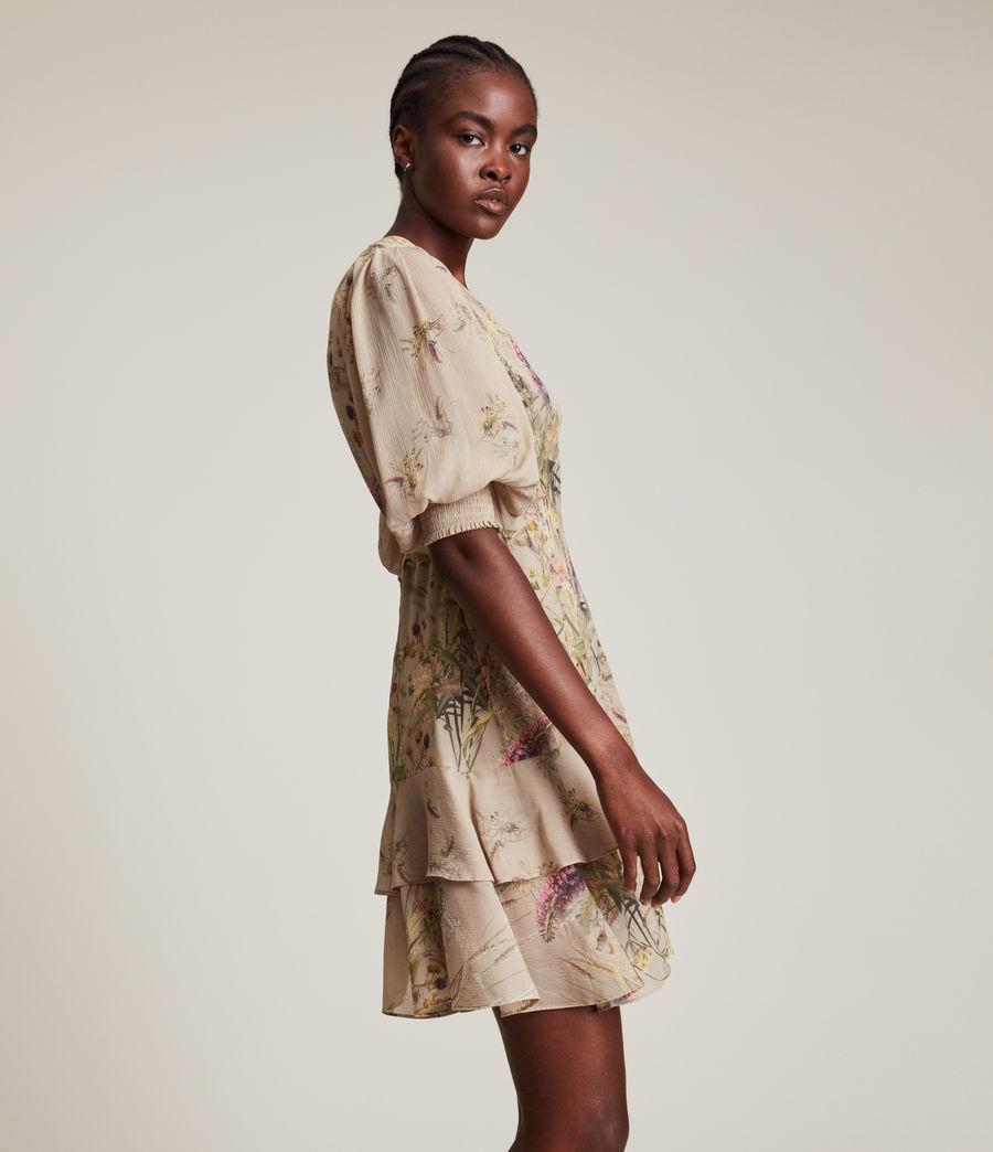 Women's Ari Caledonian Dress (khaki_green) - Image 3
