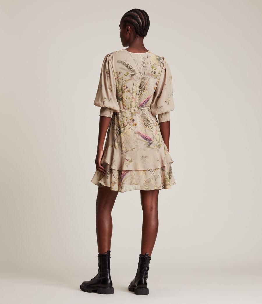 Women's Ari Caledonian Dress (khaki_green) - Image 5