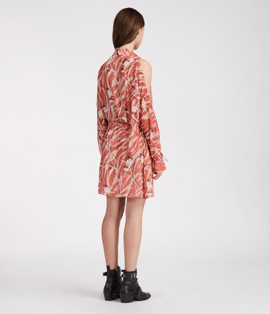 Women's Neela Kazuno Dress (red) - Image 4