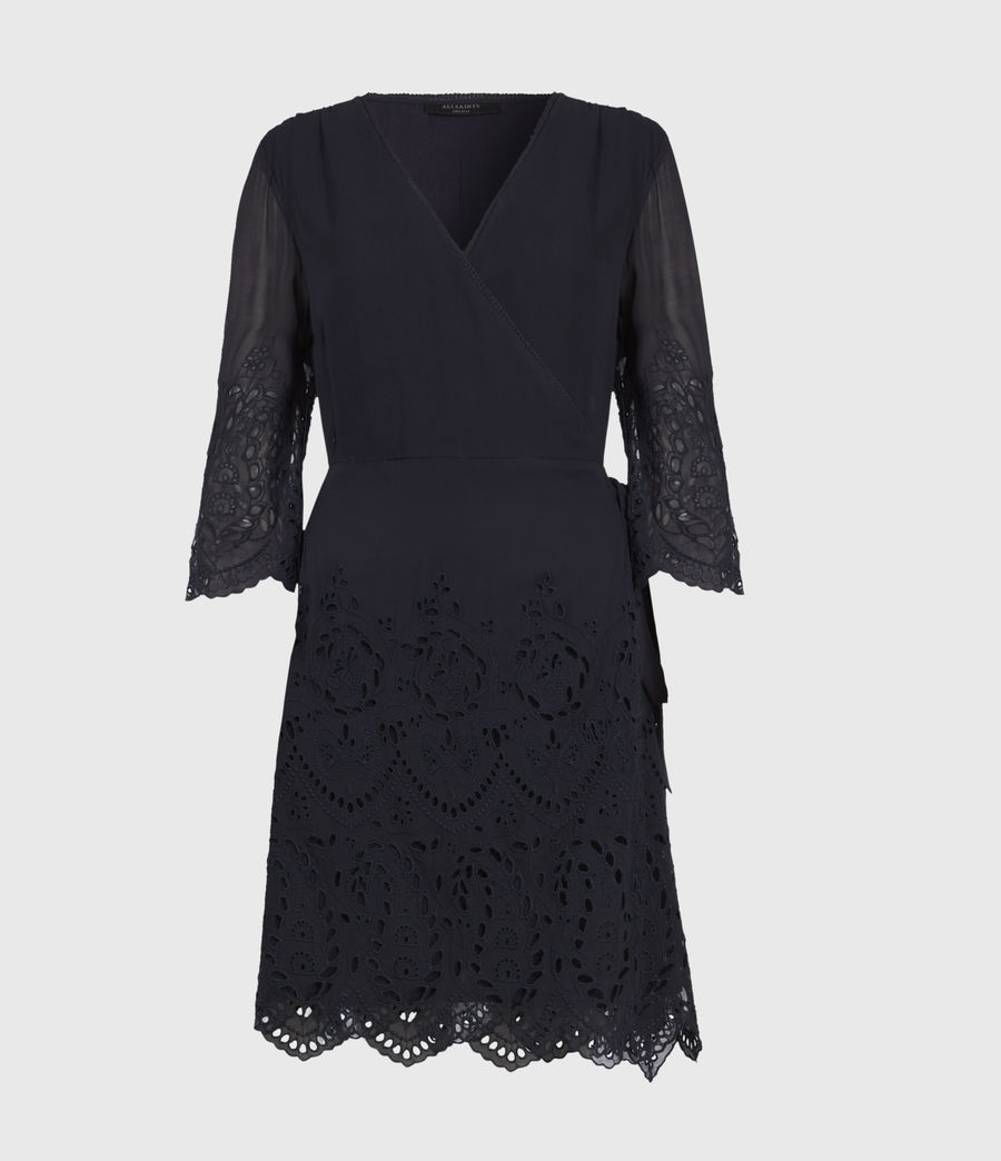 Women's Zariah Dress (ink_blue) - Image 1