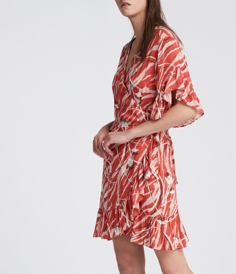 Damen Marlow Kazuno Kleid (red) - Image 2