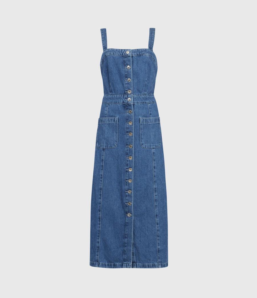 Damen Elsie Denim Dress (indigo_blue) - Image 1