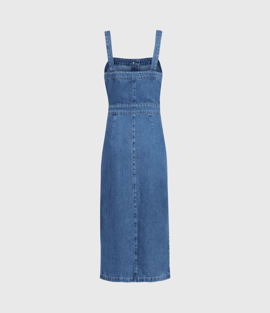 Damen Elsie Denim Dress (indigo_blue) - Image 2