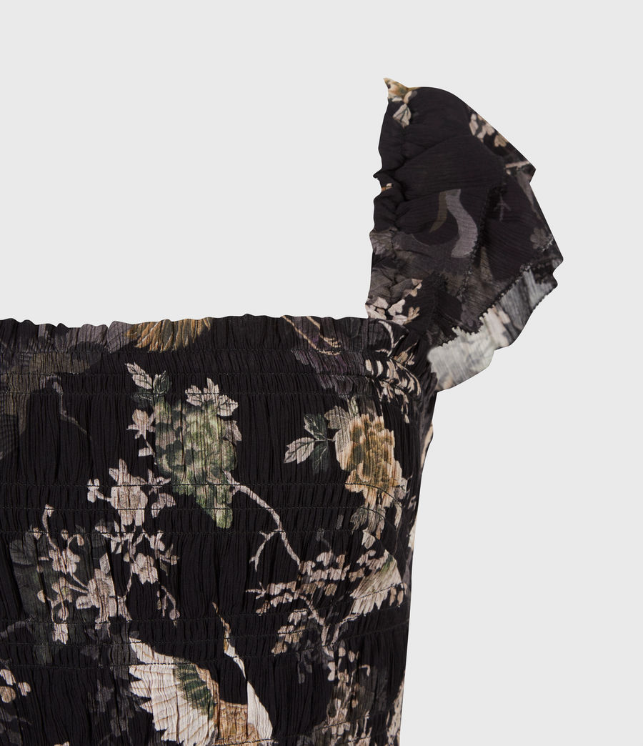 Women's Mali Amare Dress (black) - Image 5