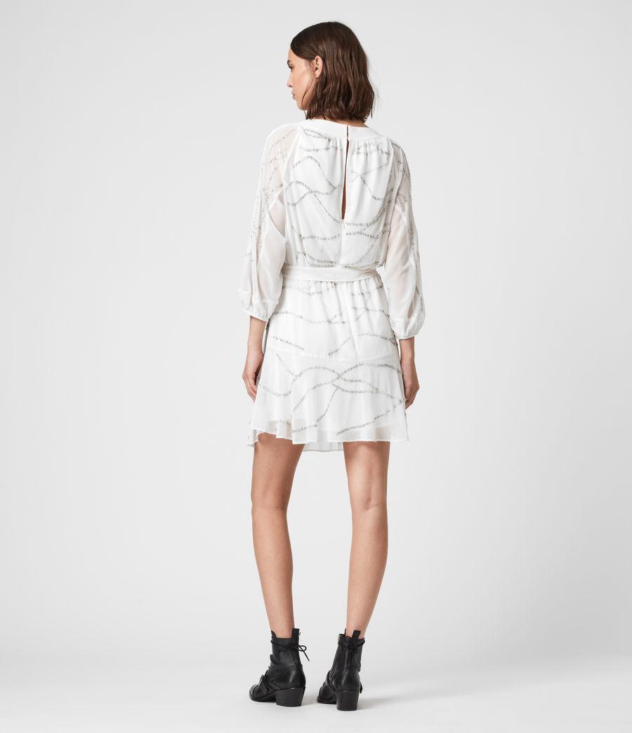 Womens Laci Embellished Dress (chalk_white) - Image 6