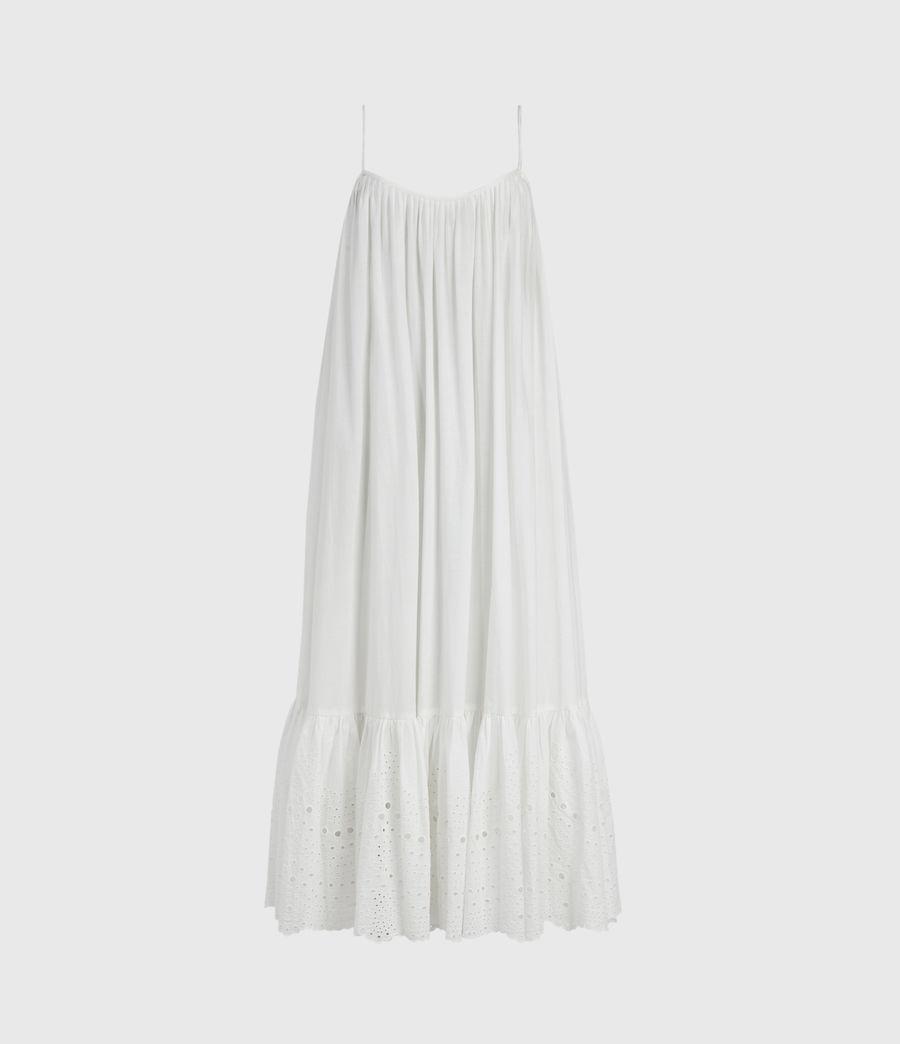 Damen Paola Baumwoll Kleid (chalk_white) - Image 2