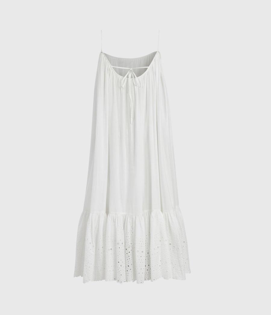 Damen Paola Baumwoll Kleid (chalk_white) - Image 3