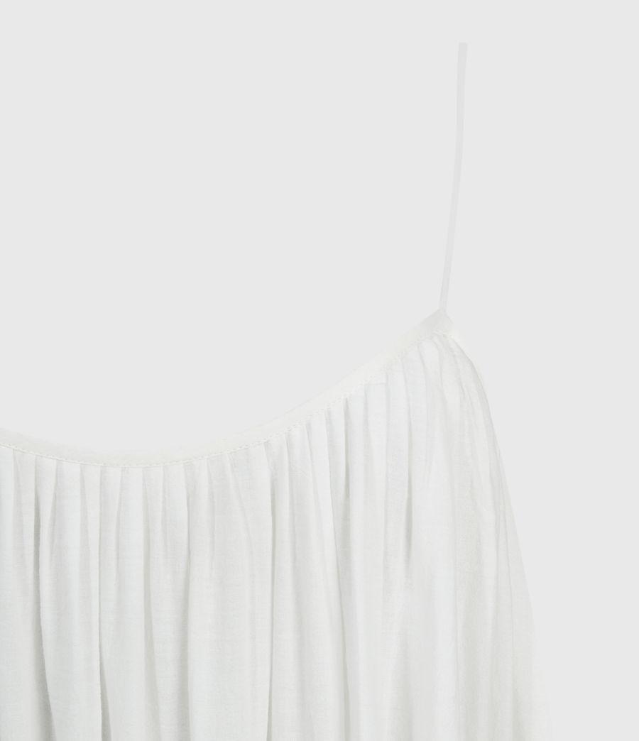 Damen Paola Baumwoll Kleid (chalk_white) - Image 4