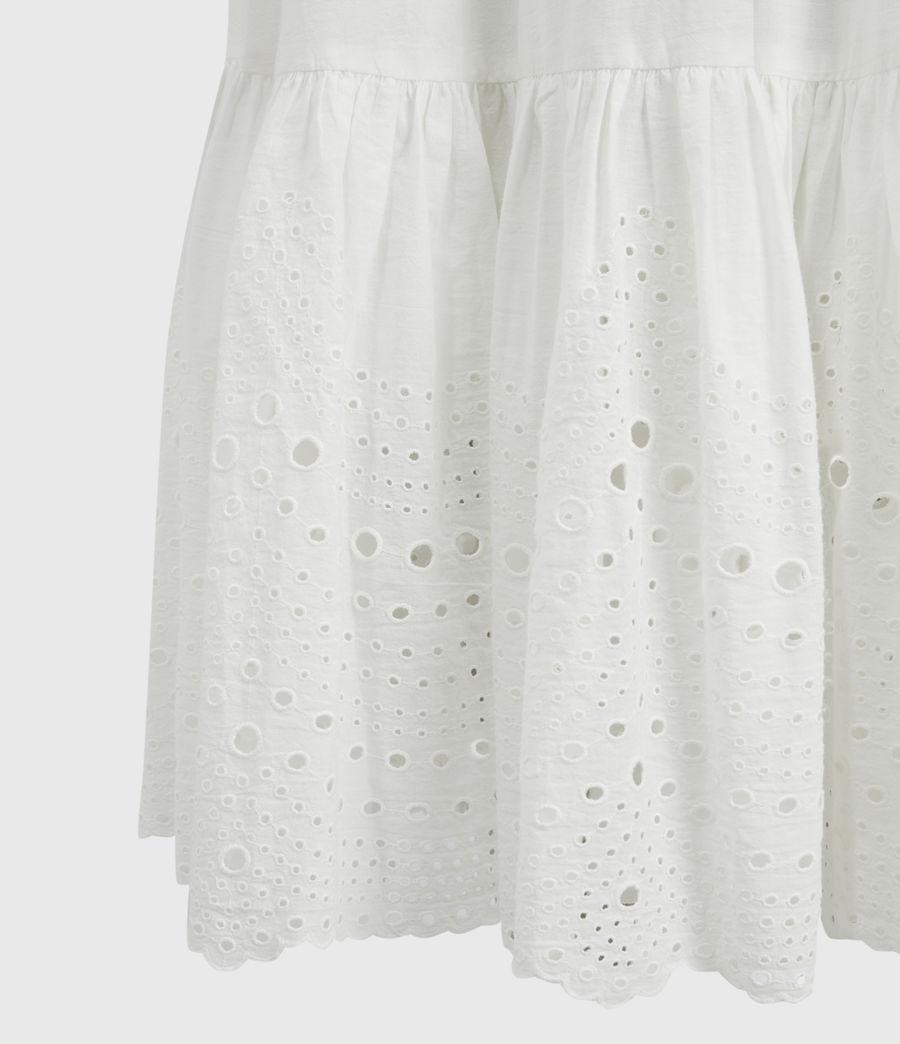 Damen Paola Baumwoll Kleid (chalk_white) - Image 5