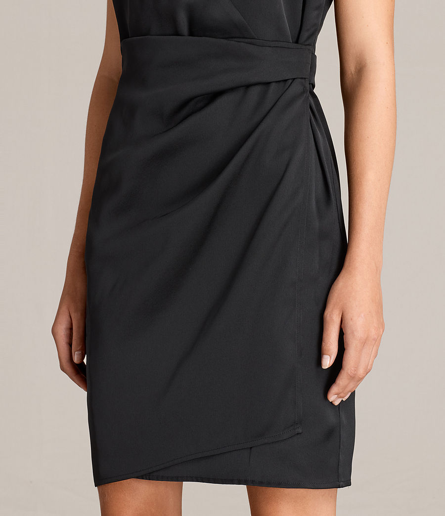 Mujer Vestido Anika (black) - Image 2
