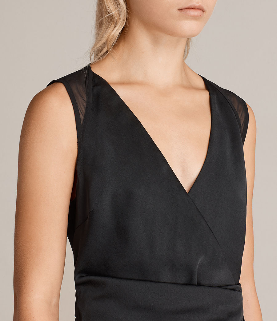 Mujer Vestido Anika (black) - Image 5
