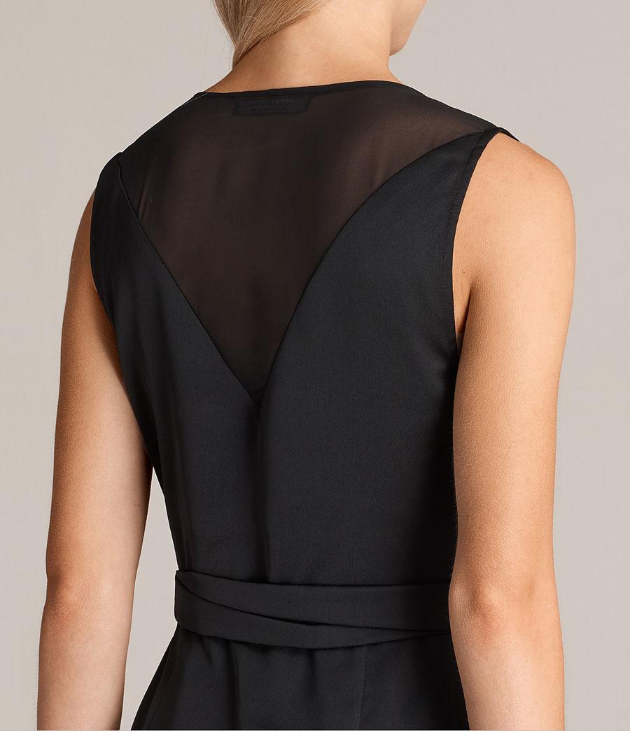 Mujer Vestido Anika (black) - Image 6