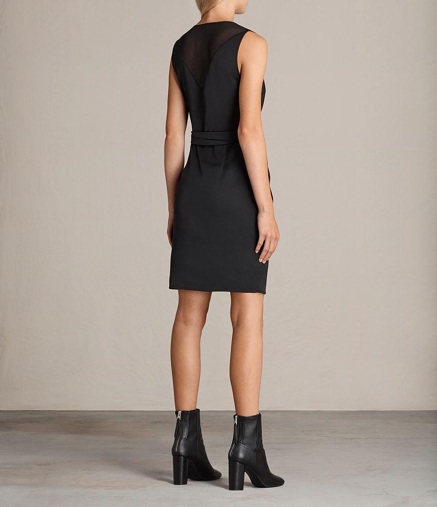 Mujer Vestido Anika (black) - Image 7