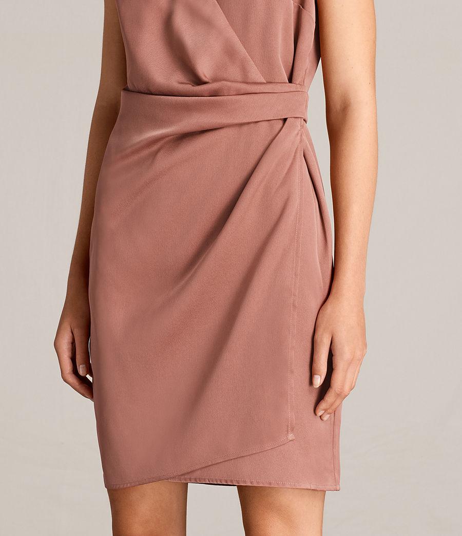 Womens Anika Dress (ash_rose_pink) - Image 2