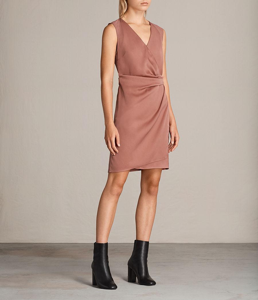 Womens Anika Dress (ash_rose_pink) - Image 3