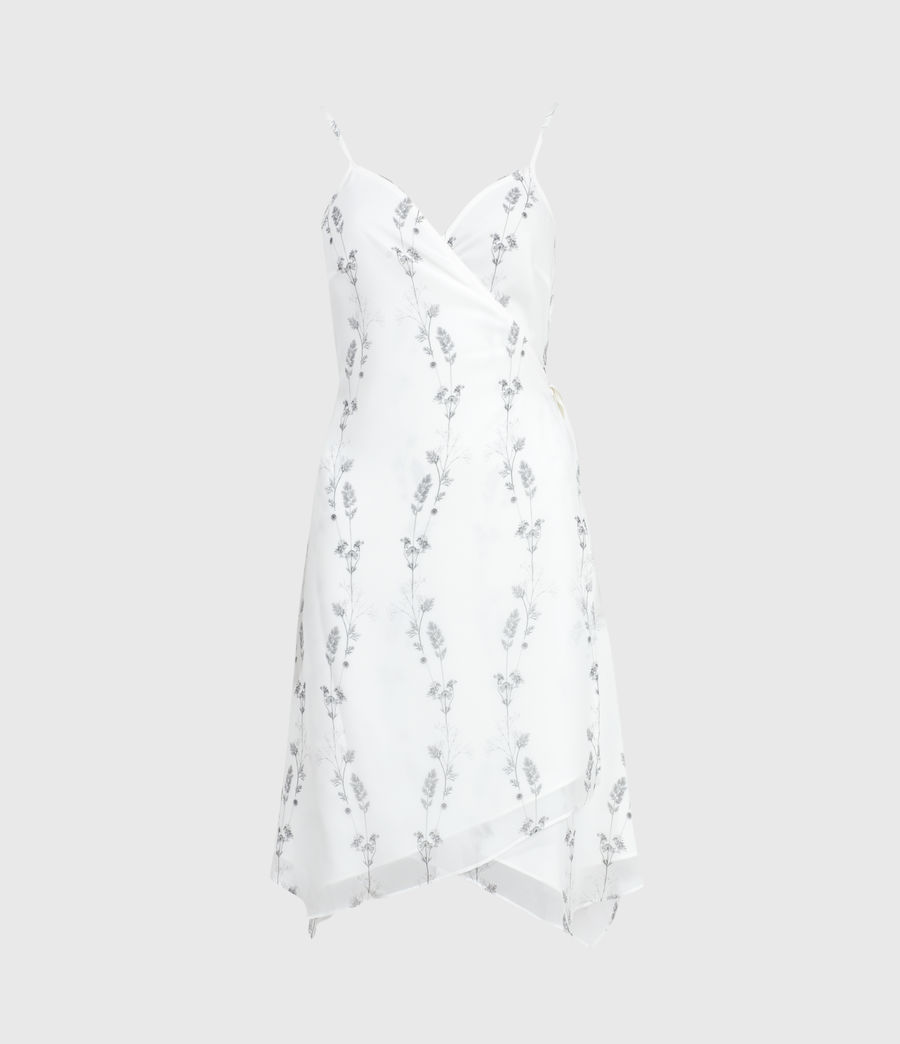 Womens Zia Varanasi Dress (chalk_white) - Image 1