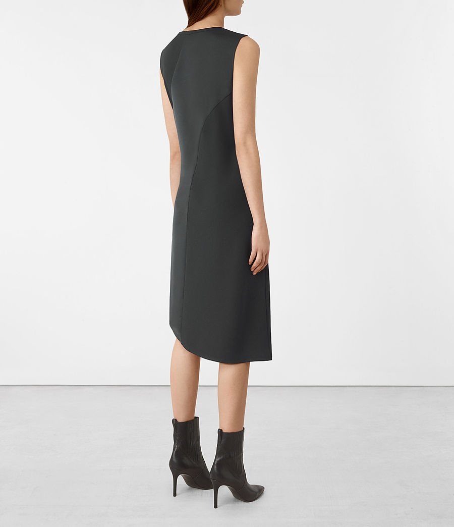 Women's Fern Dress (oil_black) - Image 5