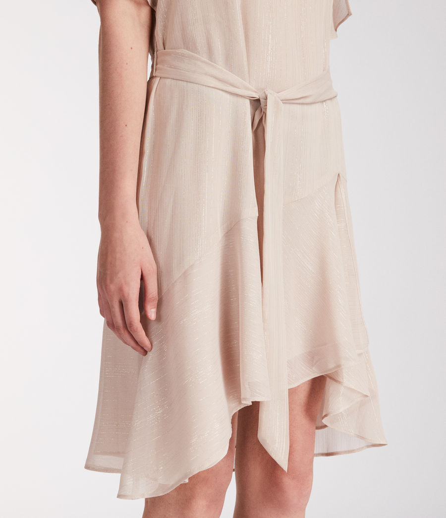 Donne Abito Sibel Stripe (dusty_pink) - Image 2